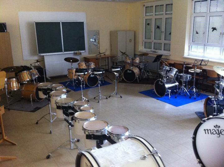 Marching und Drumsets
