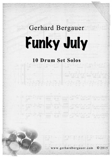 Funky July - 10 Drumsetsolos