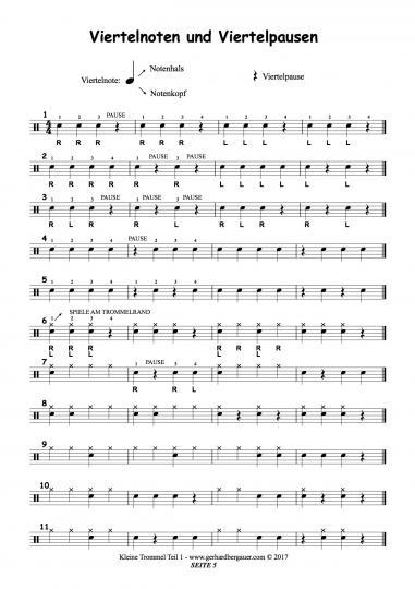 Kleine Trommel Teil 1
