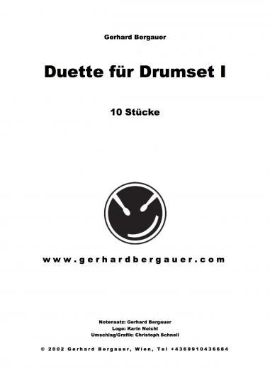 Duette für Drumset Teil 1